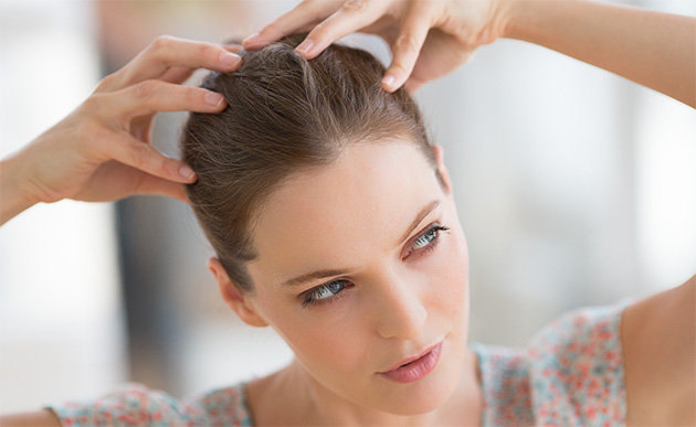 how to get away from scalp bleaches on hair
