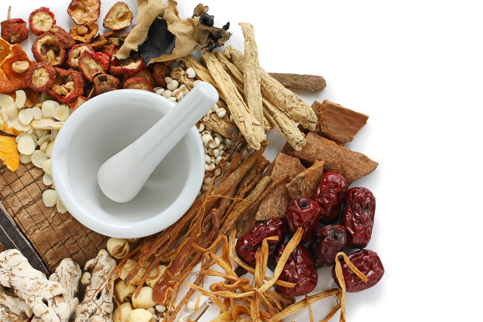 Chinese herbal hair products