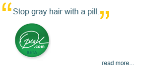 'Stop gray hair with a pill,' Oprah.com Beta